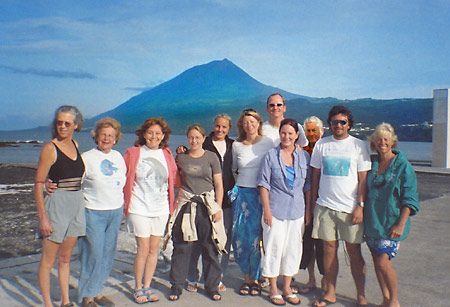 Podners before Mount Pico