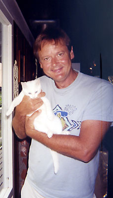 Jim with kitty
