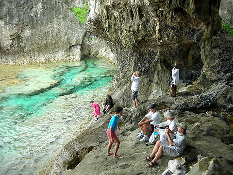 Niue Island, South pacific, 2008: New Way Pod